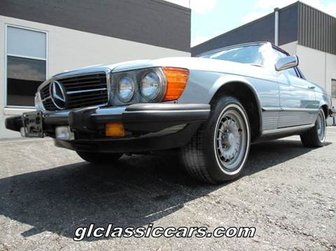 1984 Mercedes-Benz 380-Class for sale at Great Lakes Classic Cars in Hilton NY