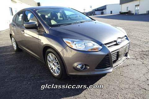 2012 Ford Focus for sale at Great Lakes Classic Cars in Hilton NY