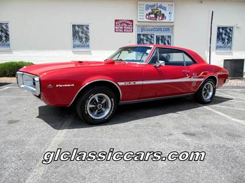 1967 Pontiac Firebird for sale at Great Lakes Classic Cars in Hilton NY