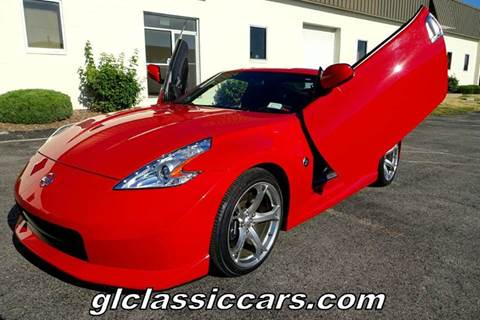 2009 Nissan 370Z for sale at Great Lakes Classic Cars & Detail Shop in Hilton NY