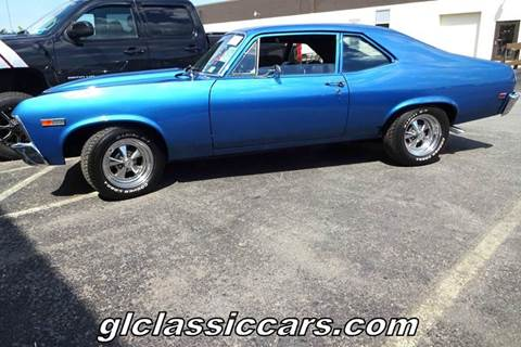 1969 Chevrolet Nova for sale at Great Lakes Classic Cars in Hilton NY