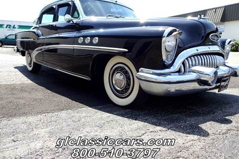 1953 Buick 50 Super for sale at Great Lakes Classic Cars & Detail Shop in Hilton NY