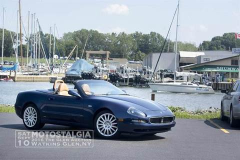 2002 Maserati Spyder for sale at Great Lakes Classic Cars in Hilton NY