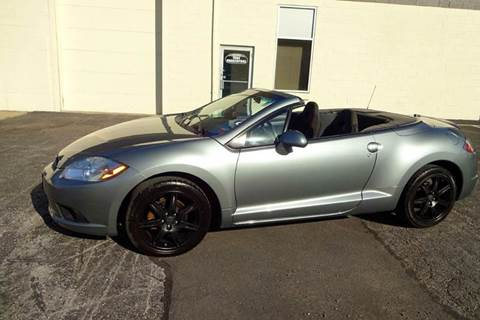 2009 Mitsubishi Eclipse Spyder for sale at Great Lakes Classic Cars & Detail Shop in Hilton NY