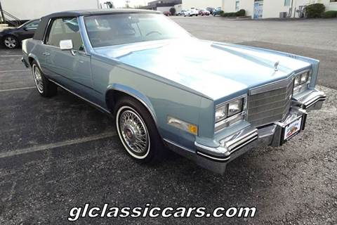 1985 Cadillac Eldorado for sale at Great Lakes Classic Cars in Hilton NY
