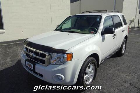 2011 Ford Escape for sale at Great Lakes Classic Cars & Detail Shop in Hilton NY
