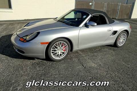 2002 Porsche Boxster for sale at Great Lakes Classic Cars in Hilton NY