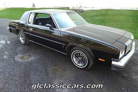 1978 Oldsmobile Cutlass Supreme for sale at Great Lakes Classic Cars & Detail Shop in Hilton NY