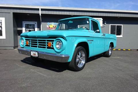 1966 Dodge D100 Pickup for sale at Great Lakes Classic Cars & Detail Shop in Hilton NY