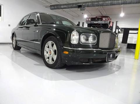 2002 Bentley Arnage for sale at Great Lakes Classic Cars in Hilton NY