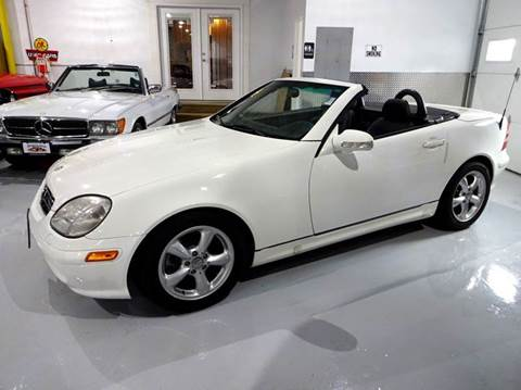 2003 Mercedes-Benz SLK for sale at Great Lakes Classic Cars in Hilton NY