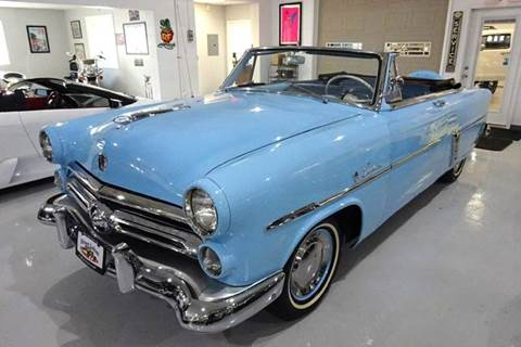 1952 Ford Crestline for sale at Great Lakes Classic Cars & Detail Shop in Hilton NY