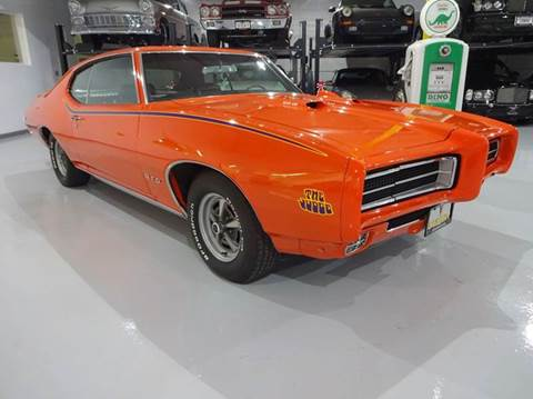 1969 Pontiac GTO for sale at Great Lakes Classic Cars & Detail Shop in Hilton NY