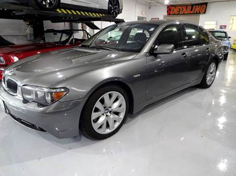 2004 BMW 7 Series for sale at Great Lakes Classic Cars in Hilton NY