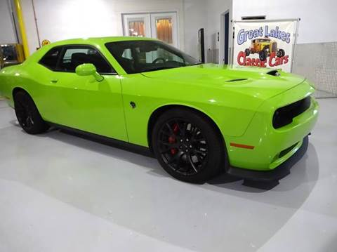2015 Dodge Challenger for sale at Great Lakes Classic Cars in Hilton NY