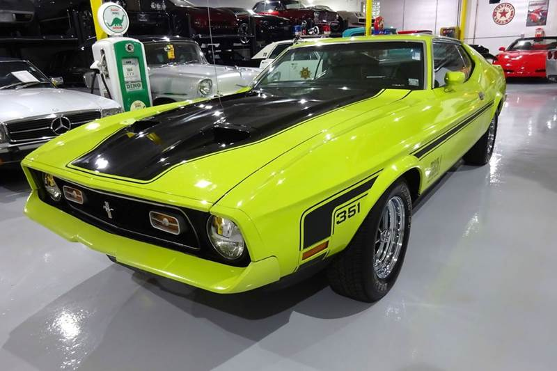 1972 Ford Mustang Mach One 351 In Hilton Ny Great Lakes Classic Cars