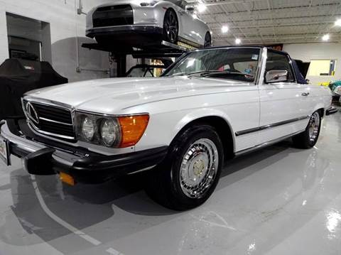 1978 Mercedes-Benz 450 SL for sale at Great Lakes Classic Cars in Hilton NY