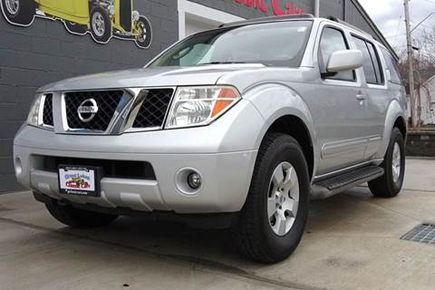 2005 Nissan Pathfinder for sale at Great Lakes Classic Cars & Detail Shop in Hilton NY