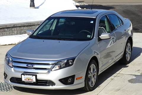 2012 Ford Fusion for sale at Great Lakes Classic Cars & Detail Shop in Hilton NY