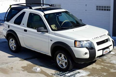 2004 Land Rover Freelander for sale at Great Lakes Classic Cars in Hilton NY