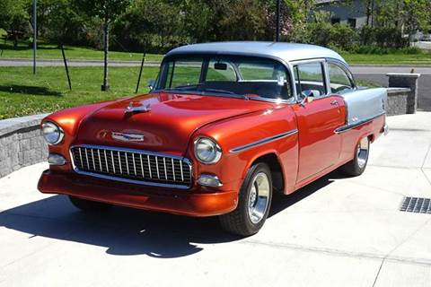 1955 Chevrolet 210 for sale at Great Lakes Classic Cars & Detail Shop in Hilton NY