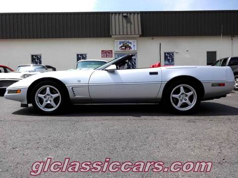 1996 Chevrolet Corvette for sale at Great Lakes Classic Cars in Hilton NY