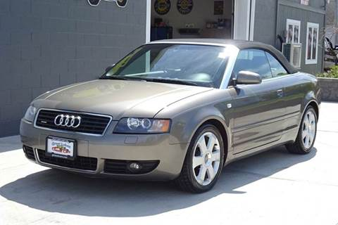 2005 Audi A4 for sale at Great Lakes Classic Cars in Hilton NY