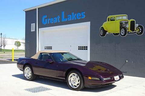 1993 Chevrolet Corvette for sale at Great Lakes Classic Cars in Hilton NY
