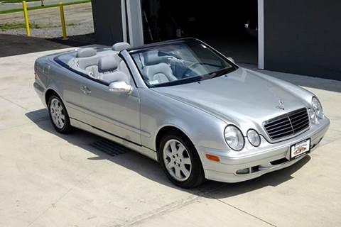 2002 Mercedes-Benz CLK for sale at Great Lakes Classic Cars & Detail Shop in Hilton NY