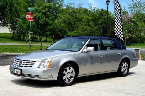 2006 Cadillac DTS for sale at Great Lakes Classic Cars & Detail Shop in Hilton NY