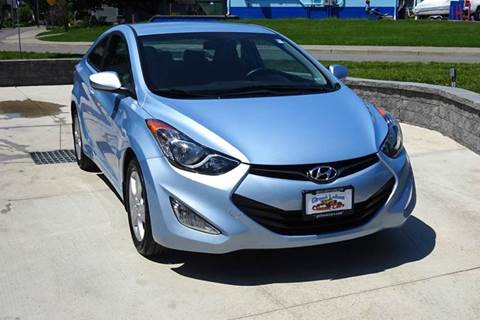 2013 Hyundai Elantra Coupe for sale at Great Lakes Classic Cars in Hilton NY