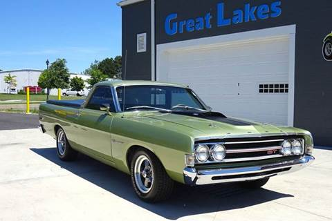 1969 Ford Ranchero for sale at Great Lakes Classic Cars in Hilton NY