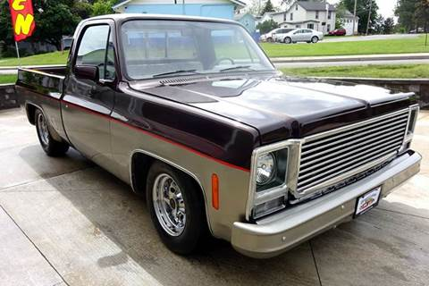 1975 Chevrolet C/K 10 Series for sale at Great Lakes Classic Cars & Detail Shop in Hilton NY