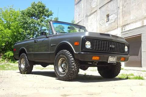 1972 Chevrolet Blazer for sale at Great Lakes Classic Cars in Hilton NY