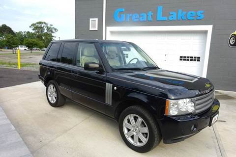 2008 Land Rover Range Rover for sale at Great Lakes Classic Cars & Detail Shop in Hilton NY