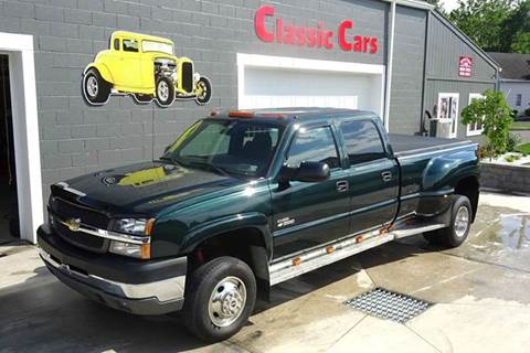 2004 Chevrolet Silverado 3500 for sale at Great Lakes Classic Cars & Detail Shop in Hilton NY