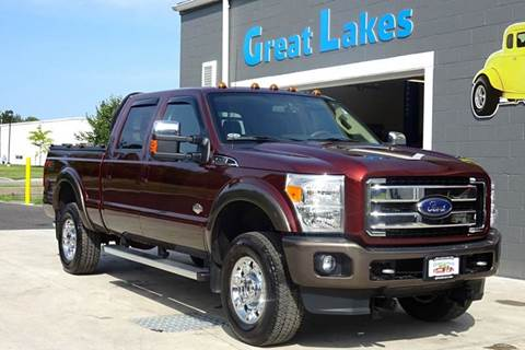2015 Ford F-350 Super Duty for sale at Great Lakes Classic Cars in Hilton NY