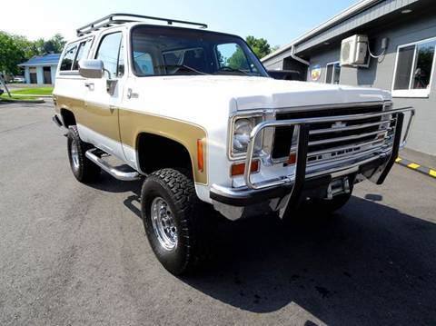 1978 Chevrolet Blazer for sale at Great Lakes Classic Cars in Hilton NY