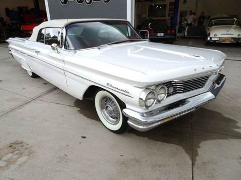 1960 Pontiac Bonneville for sale at Great Lakes Classic Cars & Detail Shop in Hilton NY
