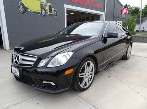 2010 Mercedes-Benz E-Class for sale at Great Lakes Classic Cars & Detail Shop in Hilton NY
