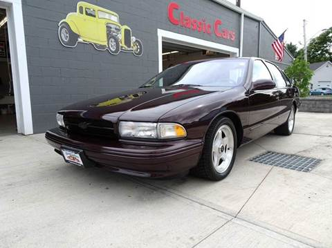 1996 Chevrolet Impala for sale at Great Lakes Classic Cars & Detail Shop in Hilton NY