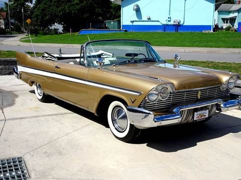 1957 Plymouth Belvedere for sale at Great Lakes Classic Cars & Detail Shop in Hilton NY