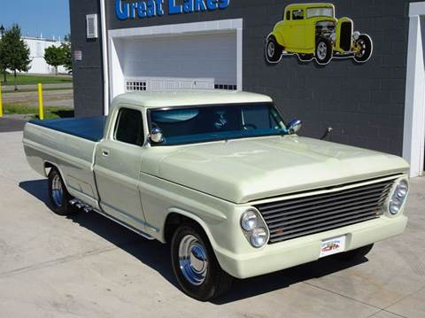 1969 Ford F-100 for sale at Great Lakes Classic Cars & Detail Shop in Hilton NY
