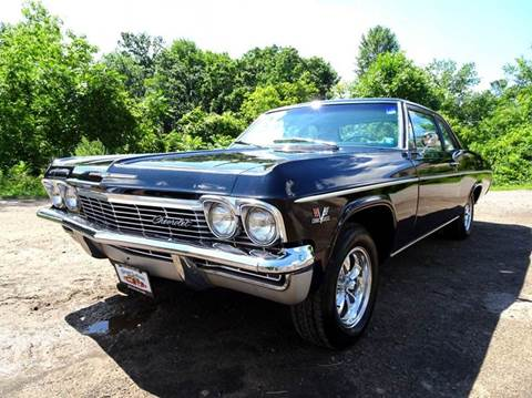 1965 Chevrolet Biscayne for sale at Great Lakes Classic Cars & Detail Shop in Hilton NY
