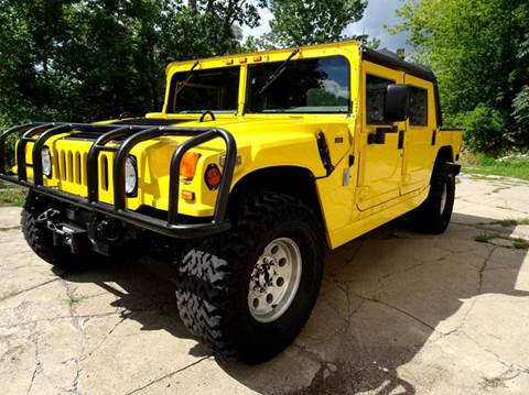 1998 AM General Hummer for sale at Great Lakes Classic Cars & Detail Shop in Hilton NY