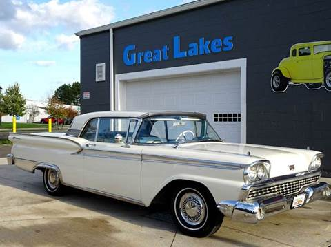 1959 Ford Galaxie for sale at Great Lakes Classic Cars in Hilton NY
