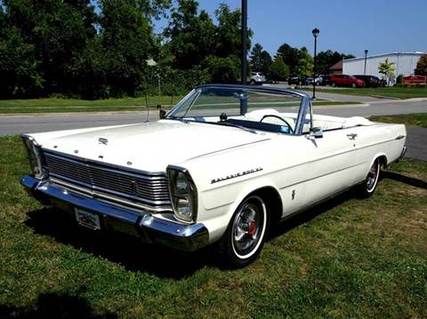 1965 Ford Galaxie for sale at Great Lakes Classic Cars & Detail Shop in Hilton NY