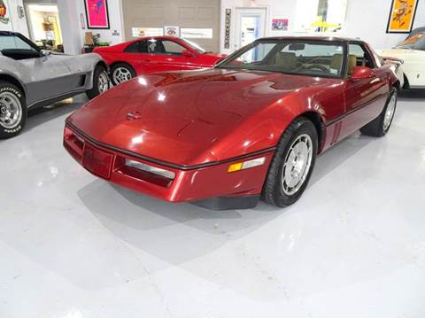 1986 Chevrolet Corvette for sale at Great Lakes Classic Cars in Hilton NY