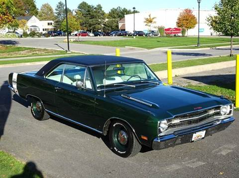 1969 Dodge Dart for sale at Great Lakes Classic Cars & Detail Shop in Hilton NY