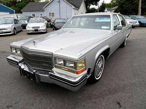 1984 Cadillac Fleetwood Brougham for sale at Great Lakes Classic Cars in Hilton NY